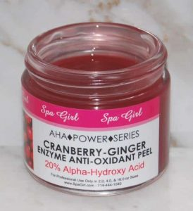 Cranberry-Ginger Enzyme AntiOxidant Peel