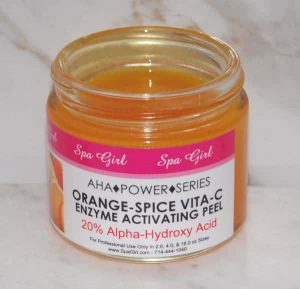 "Orange-Spice Vita ""C"" Enzyme Activating Peel"