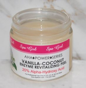 Vanilla-Coconut Enzyme Revitalizing Peel